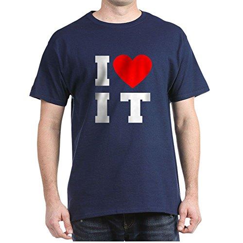 CafePress I Luv It Heart - 100% Cotton T-Shirt