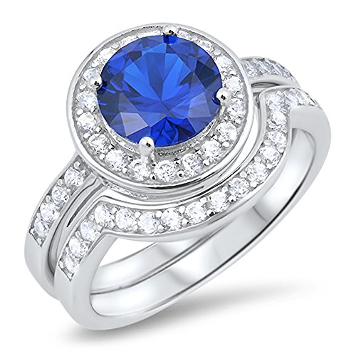 CHOOSE COLOR Sterling Silver Round product image