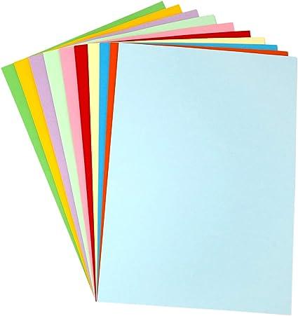 Bastel-Papier zum DIY G2PLUS 100 Blatt A4 Origami-Papier Buntpapier Durchzeichnen und Skizzieren 70 g//m/² Kopierpapier Papier Basteln Papierblumen
