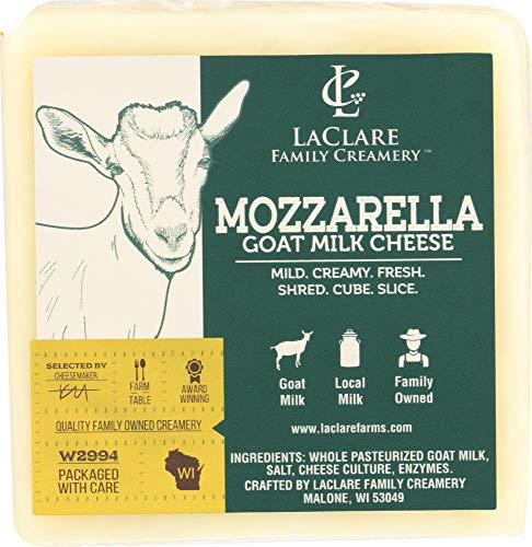Laclare Farms Specialties (1 Item ONLY) Cheese Goat Mozzarella with Milk