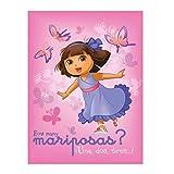 Dora Butterfly Dance Fleece Blanket - 46'' by 60''