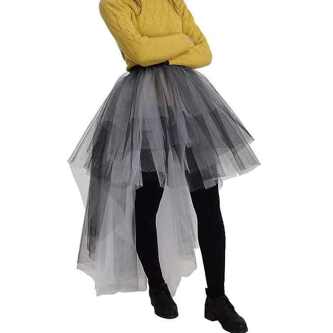 GRACEART Falda de Estilo Steampunk gótico para Mujeres con Gasa ...