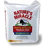 Nature's Miracle Quick Results Training Pads, 50-Count (5250)