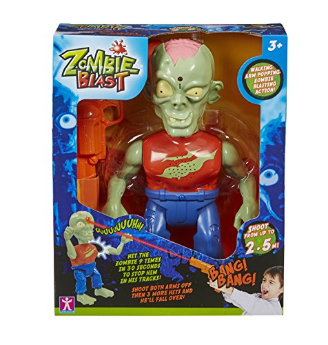 iDragon Zombie Blast IR Shooting Game (colors may vary)