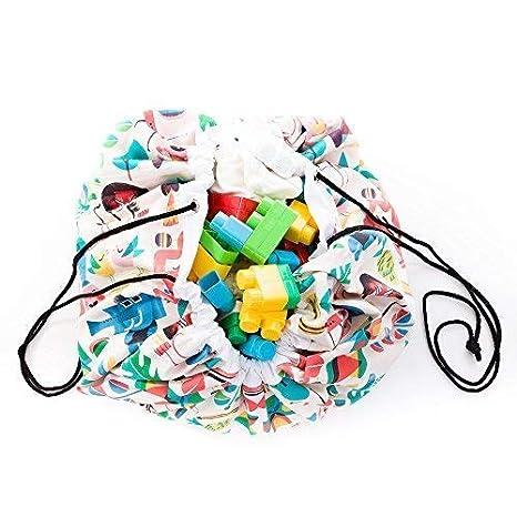 Big Apples PlayClean Manta recoge juguetes saco organizador alfombra con cuerdas lavable resistente Varios Modelos Fabricado en Espa/ña