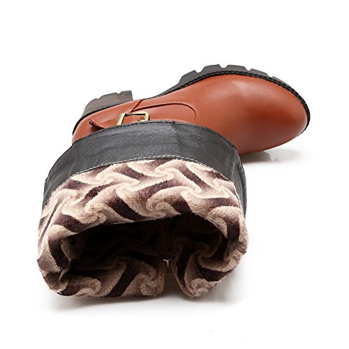 1TO9 - Stivali Chukka donna, marrone (Brown), 35 EU