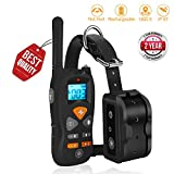 JIALANJIUYU Dog Training Collar Shock Training Collar for Dogs NO Hurt and IP67 Level Waterproof with 1800FT Remote Beep/Vibration/Shock Electronic Collar Modes for All Dogs Review