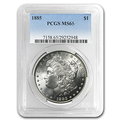 1885 Morgan Dollar MS-65 PCGS 1 MS-65 PCGS