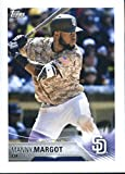 2018 Topps Stickers #259 Manny Margot San Diego Padres