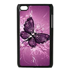 QSWHXN Phone Case Butterfly,Customized Case For Ipod Touch 4