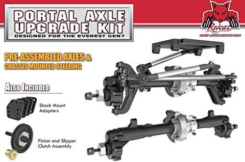 Redcat Racing Portal Axle Kit Designed for The GEN7 Scale Crawler