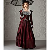 Simplicity Pattern 2172 Misses' Steampunk Costume