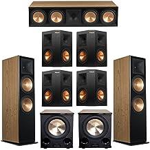 Klipsch 7.2 Cherry System with 2 RF-7 III Floorstanding Speakers, 1 RC-64 III Center Speaker, 4 Klipsch RP-250S Surround Speakers, 2 Klipsch PL-200II Subwoofers