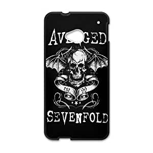 HTC One M7 Cell Phone Case Black Avenged Sevenfold Eazev