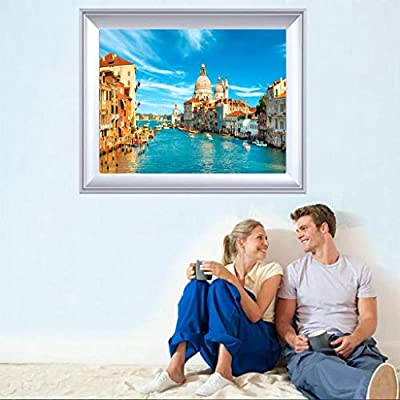 1000 Piece Jigsaw Puzzle for Adults - 1000 Pc Places of Interest Jigsaw Puzzle Game - Interesting Intellective Educational Toys - Hand Made Puzzles Personalized Gift (Water City of Venice): Health & Personal Care