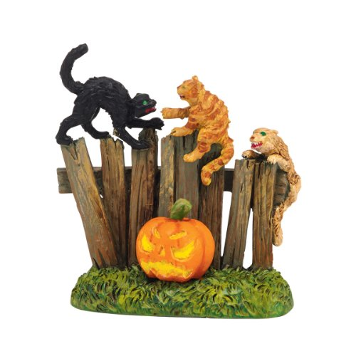 Department 56 Halloween Accessories Village Creepy Creatures Cats Accessory, 1.57-Inch