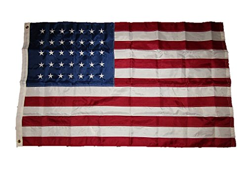3×5 Embroidered Sewn 35 Star Linear 210D Solarmax Nylon Flag 3'x5′