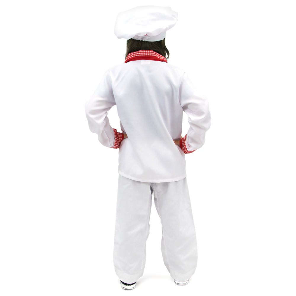 Amazon.com: Master Chef Disfraz de Halloween para niños ...