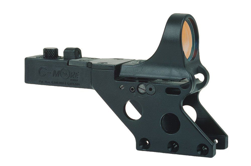 C-MORE Systems Serendipity Red Dot Sight with Click Switch (Frame Width: .750-Inch), Black, 2 MOA