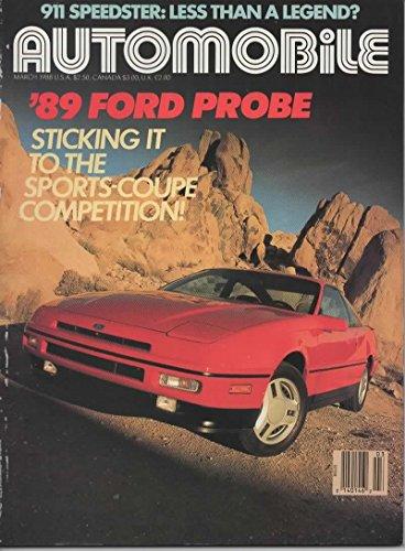Carrera Suspension (Automobile Magazine, March 1988 (Vol 2, No 12))