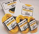 50 Ft Yellow Jacket 12/3 Contractor Grade Cord-2pack