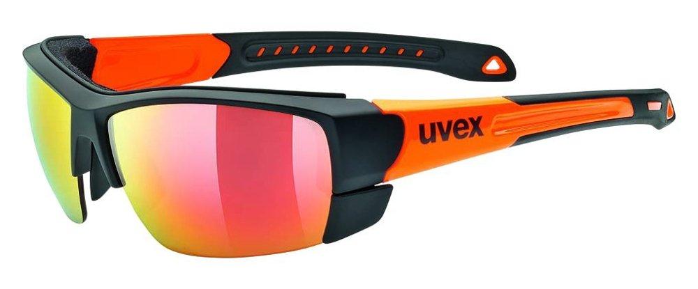 Uvex Sportstyle 308 Lunettes de sport Noir/Orange vCuAGehnc