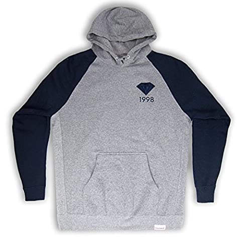 NEW MEN Diamond Supply Co Size 2XL 1998 Jacket Sweater Hooded Shirt Long Sleeve (Diamond Supply Co 1998)
