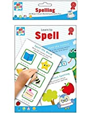 Children's Educational Wipe Away Book with Pen - Learn to Spell