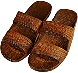 Pali Hawaii Adult Classic Brown Jandals Sandals 10 offers