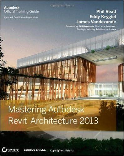 Mastering Autodesk Revit Architecture 2013: 9781118174081: Computer