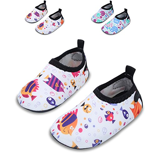 Jiasuqi baby and kids athletic sneakers barefoot water for Fish tennis shoes