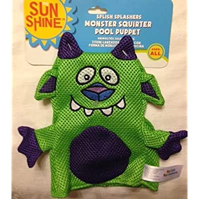 Monster Squirter Pool Bath Puppet - Green: Beauty