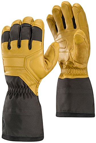 Black Diamond Men's Guide Gloves, Natural, Large