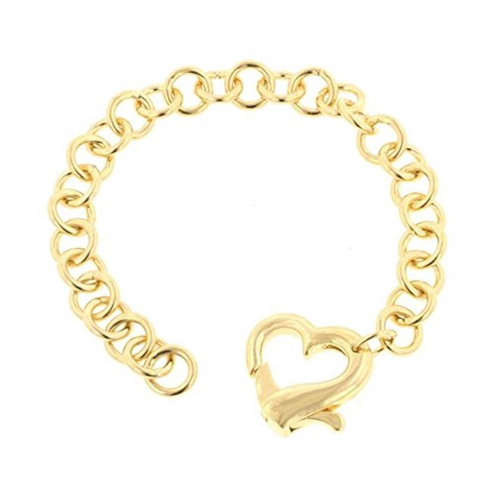 Covet Golden Heart Bracelet