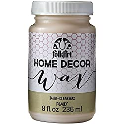 Folkart Home Decor Wax (8-ounce), 34170 Clear