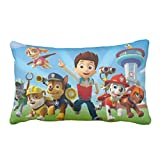 Nevin Moore Paw Patrol Custom Zippered Cute Sofa Cushion Waist Pillow Cover Cotton Duplex Print 16X24Inch