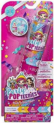 Parti popteenies 6044093 double surprise Poppers Toy multi-couleur