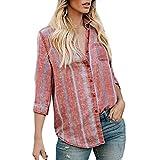 Keliay Bargain Women Stripe Casual Top Fashion T Shirt Ladies Long Sleeve Blouse