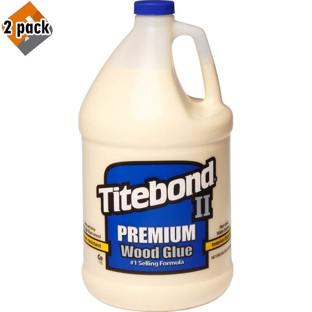 Titebond 5006 II Premium Wood Glue - Gallon - 2 Pack
