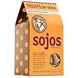 Sojos Crunchy Natural Dog Treats, Peanut Butter Honey, 10-Ounce Box