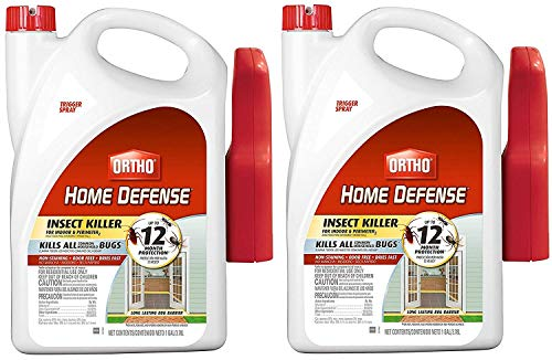 (Ortho 0220810 Home Defense Max Insect Killer for Indoor and Perimeter RTU Trigger, 2Pack)