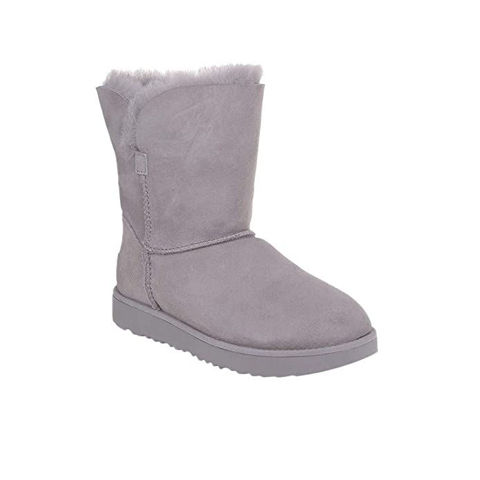 310b6cb5bd4 UGG - Classic Cuff Short Boots - Seal (Light Grey)