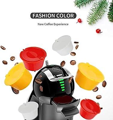 Letilio Filtros Cápsulas de Café Multicolor Rellenar reutilizar ...