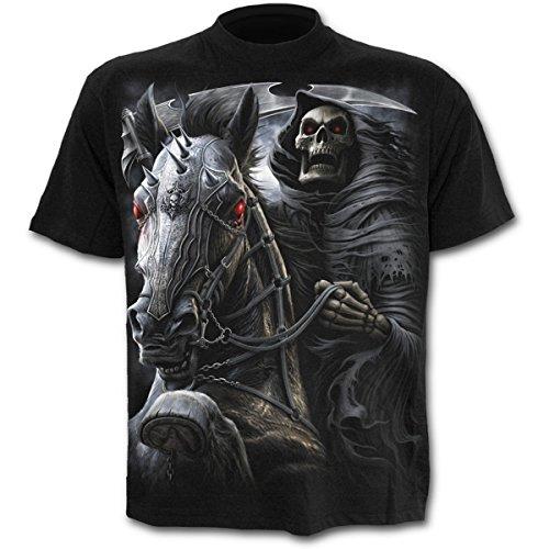 Spiral Death-Rider T - Shirt, schwarz