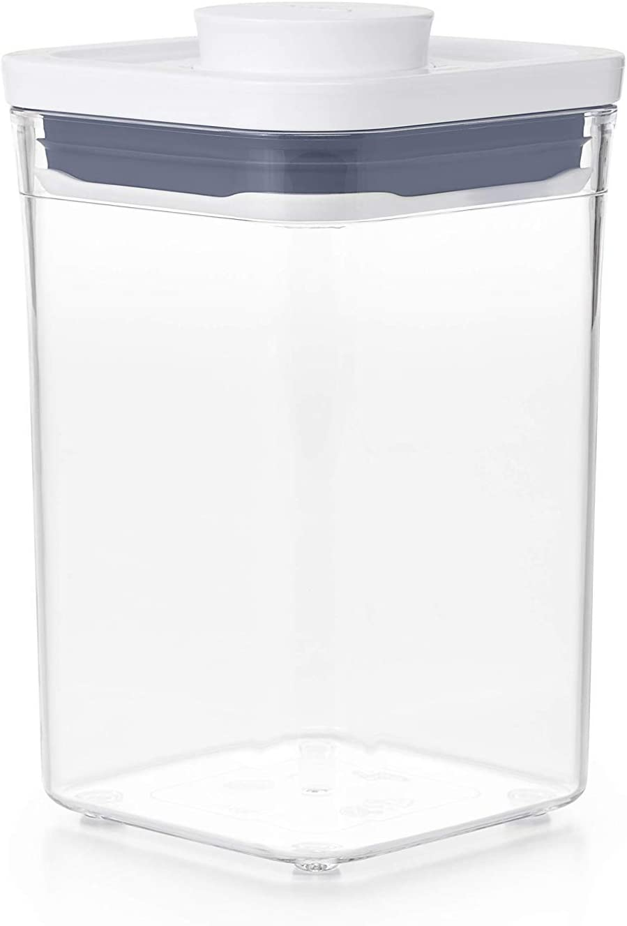 OXO Good Grips POP Container - Airtight Food Storage - 1.1 Qt Square (Set of 4) for Brown Sugar and More