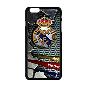 Happy Real Madrid VS Schalke 04 Cell Phone Case for Iphone 6 Plus