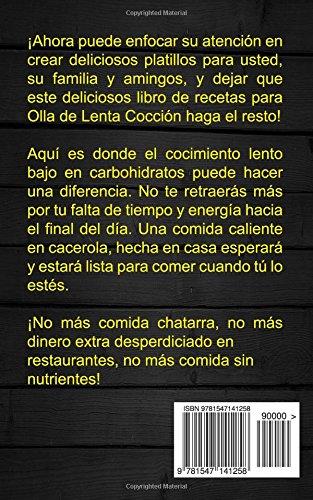 Recetas: Crockpot: Libro de cocina Crockpot (Slow cooker: Olla de barro) (Spanish Edition): Hugo Duran: 9781547141258: Amazon.com: Books