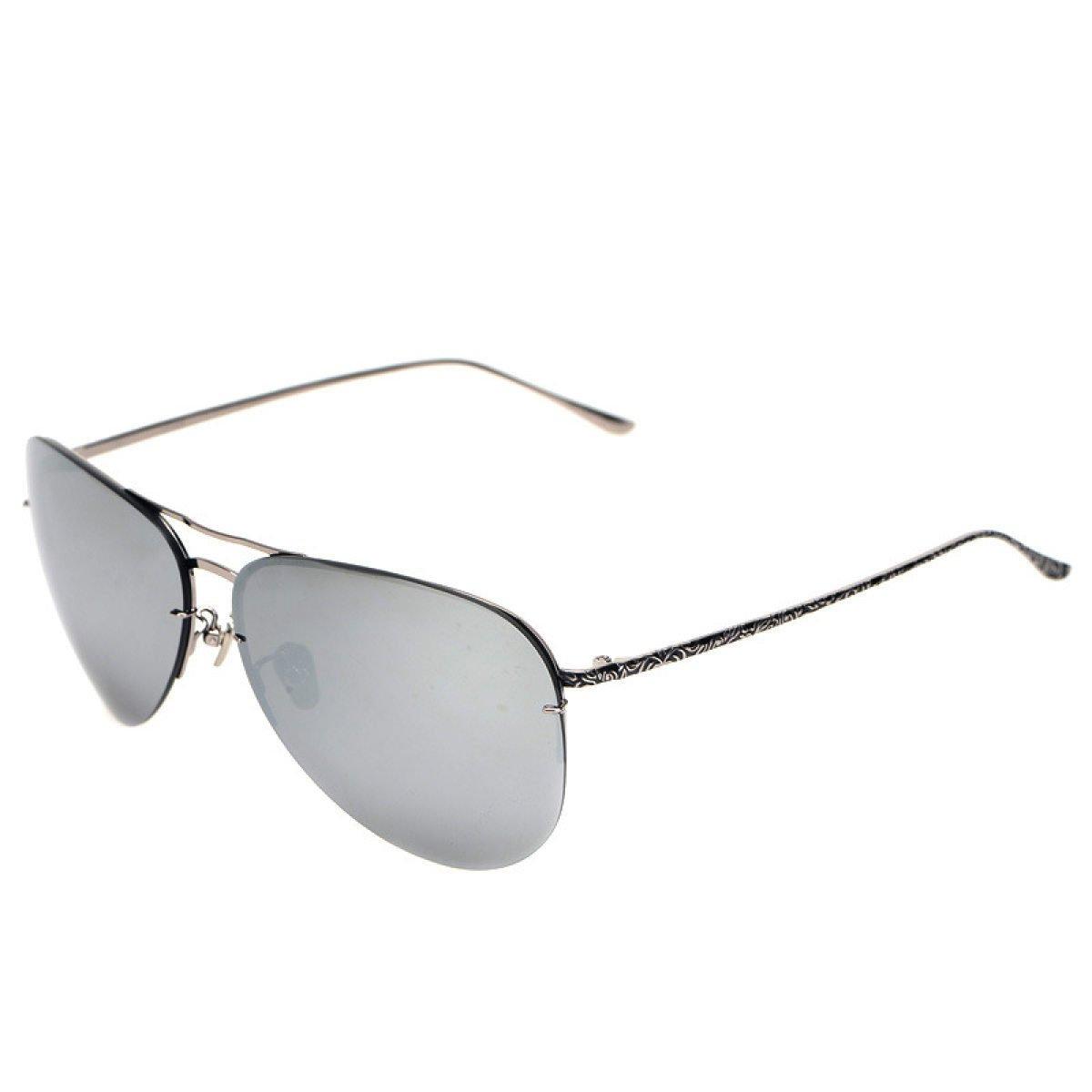 Wkaijc Stilvoll Rahmenlos Paar Farbfilm Kreativ Männer Und Frauen Fahrer Sonnenbrillen Sonnenbrillen,B