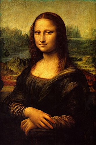 - Gifts Delight Laminated 24x36 inches Poster: Mona Lisa Painting Art Oil Painting Artwork Leonardo Da Vinci La Gioconda Woman Expensive Priceless Louvre