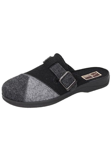 Herren-Pantolette Grau 220239-9